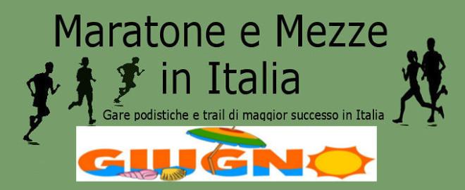 Calendario Maratone Internazionali.Calendario Del Mese Di Giugno 2019 Delle Maratone E Delle