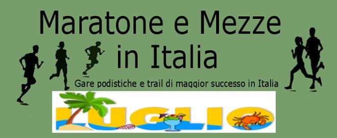 Calendario Fidal Calabria.Calendario Del Mese Di Luglio 2019 Delle Maratone E Delle
