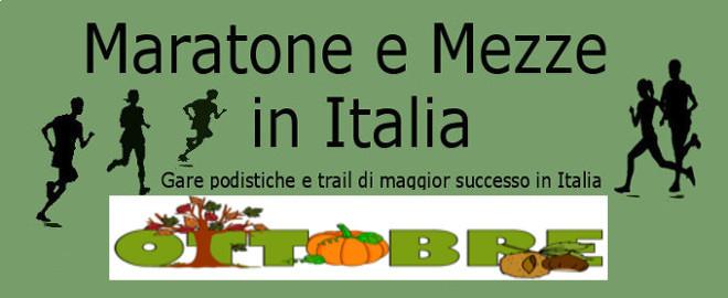 Calendario Mese Ottobre 2020.Calendario Del Mese Di Ottobre 2019 Delle Maratone E Delle